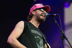 © Licensed to London News Pictures. 20/07/2014. Southwold, UK.   Phosphorescent (Matthew Houck) performing live at Latitude Festival 2014 on Day 3.  The Latitude Festival is a British annual music festival.  Photo credit : Richard Isaac/LNP