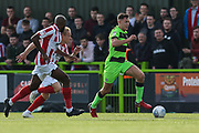 Forest Green Rovers Paul Digby(20) runs forward during the EFL Sky Bet League 2 match between Forest Green Rovers and Cheltenham Town at the New Lawn, Forest Green, United Kingdom on 20 October 2018.