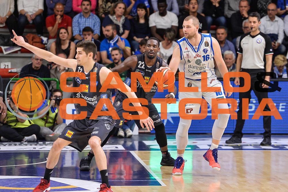 Tautvydas Lydeka<br /> Banco di Sardegna Dinamo Sassari - Dolomiti Energia Aquila Basket Trento<br /> Legabasket Serie A LBA Poste Mobile 2016/2017<br /> Playoff Quarti Gara3<br /> Sassari 16/05/2017<br /> Foto Ciamillo-Castoria