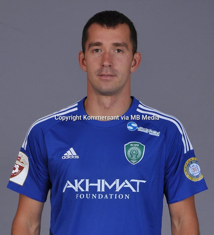Portraits, FC Terek Grozny, August 2016, Russian Premier League