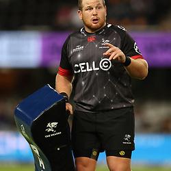 DURBAN, SOUTH AFRICA - MARCH 11: Lourens Adriaanse of the Cell C Sharks during the Super Rugby match between the Cell C Sharks and Waratahs at Growthpoint Kings Park on March 11, 2017 in Durban, South Africa. (Photo by Steve Haag/Gallo Images)