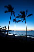 Sunset, Maluaka Beach, Makena, Maui, Hawaii