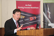 Gerard O Neill Amárach Research at the An Post Driving Success Roadshow at the Radisson Hotel, Galway. The event focused on practical and creative marketing techniques and saw attendees gain valuable insights into successful campaigns from leading marketing experts. Broadcaster Matt Cooper was MC at the event. .Photo:Andrew Downes