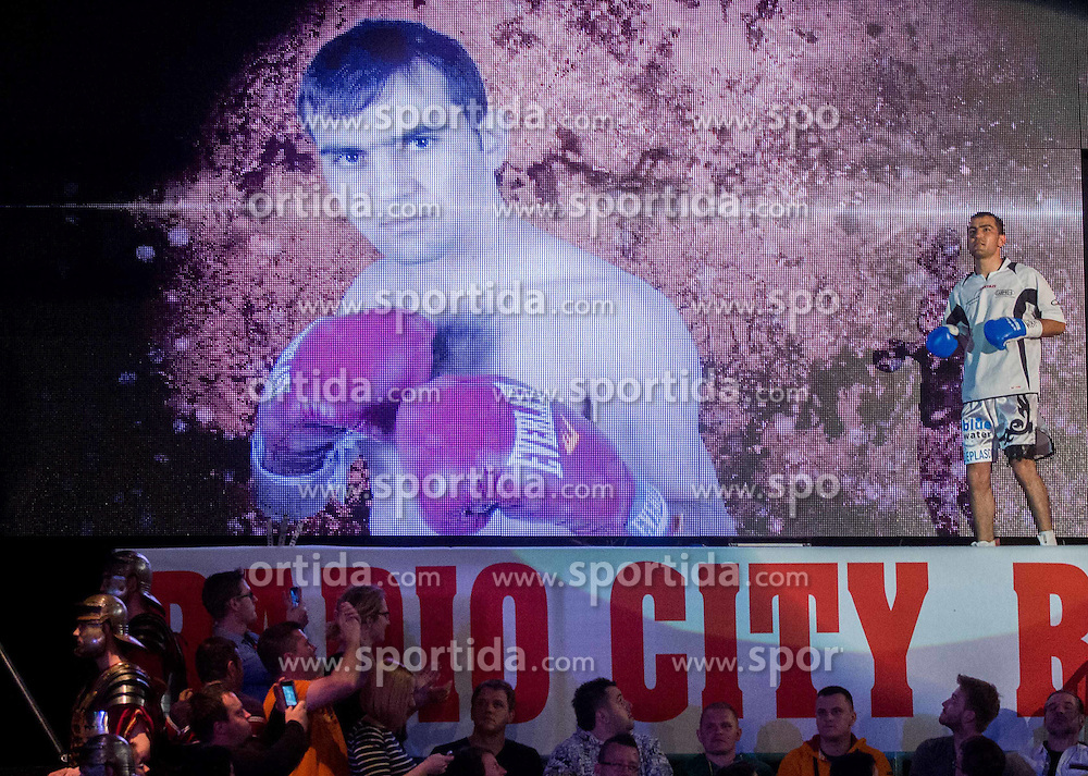 Sasha Yengoyan of Belgium prior to the Fight for World WBF Champion against Dejan Zavec alias Jan Zaveck of Slovenia during First Class Boxing event, on April 11, 2015 in Arena Tabor, Maribor, Slovenia. Photo by Vid Ponikvar / Sportida