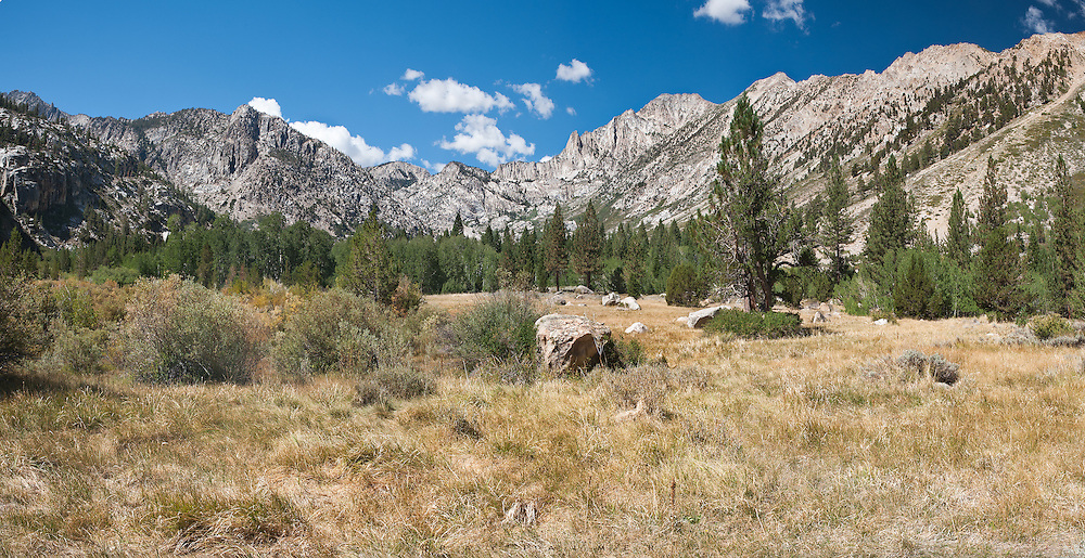 Hoover Wilderness, California.  Flanked by Buckeye Ridge and Sawteeth Ridge, I hiked forward towards a map point.   Hunawill Peak and Cirque Mountain towered 11,000 feet up, drawing me towards the lake cradled below them.  Fit and strong from a week of hiking, my head was clear.  Looking back at a sequence of routes and images, the days were filled with hope and confidence, goals and success. I carried a pack and a camera into the silver brightness of granite peaks, and no other baggage.  Would that our journey through life were as simple.  I wish I could say, with the certainty I knew that day, what lies ahead.