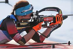11.03.2016, Holmenkollen, Oslo, NOR, IBU Weltmeisterschaft Biathlon, Oslo, 4x6 Km Staffel, Damen, im Bild Dunja Zdouc (AUT) // during 4x6 km women relay of the IBU World Championships, Oslo 2016 at the Holmenkollen in Oslo, Norway on 2016/03/11. EXPA Pictures © 2016, PhotoCredit: EXPA/ Newspix/ Tomasz Jastrzebowski<br /> <br /> *****ATTENTION - for AUT, SLO, CRO, SRB, BIH, MAZ, TUR, SUI, SWE only*****