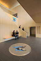 Architectural interior image of the JHU Cordish Lacrosse Center by Jeffrey Sauers of Commercial Photographics