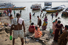 Daily Life On The Ganges River In Varanasi - 18 May 2019