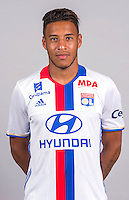Corentin Tolisso during the photocall of Lyon for new season of Ligue 1 on September 22nd 2016 in Lyon<br /> Photo : OL / Icon Sport