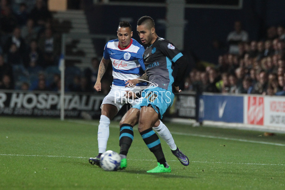 Sheffield Wednesday midfielder Lewis McGugan during the Sky Bet Championship match between Queens Park Rangers and Sheffield Wednesday at the Loftus Road Stadium, London, England on 20 October 2015. Photo by Jemma Phillips.