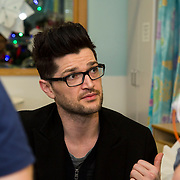 25/12/2014<br /> Special visitors on Christmas Day in Temple Street Children&rsquo;s Hospital<br /> Danny from the Script makes little kid&rsquo;s Christmas with hospital visit.<br /> Pictured here are Danny O&rsquo;Donoghue.<br /> Danny O&rsquo;Donoghue showed a heart of gold when he turned up at Temple Street&rsquo;s Children&rsquo;s Hospital on Christmas Day. The Script&rsquo;s frontman spent a number of hours on Christmas morning visiting children at their bedside along with Santa, the Lord Mayo.&nbsp;Last year, almost 400 children were cared for in Temple Street on Christmas Eve and Christmas Day &amp; a visit from Danny helped bring the magic of Christmas to Temple Street for the children and babies who are too ill or weak to make it home. Danny said of his work with Temple Street &ldquo;It&rsquo;s amazing to be involved with Temple Street, it&rsquo;s the greatest hospital on the planet. It&rsquo;s really humbling to see the children, families, doctors and nurses in Temple Street; they are all true superheroes.&quot;<br /> Pic: Alan Rowlette Photography<br /> -ENDS-
