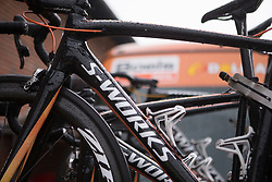 Boels-Dolmans Cycling Team team bikes before the start of Stage 3 of the Ladies Tour of Norway - a 156.6 km road race, between Svinesund (SE) and Halden on August 20, 2017, in Ostfold, Norway. (Photo by Balint Hamvas/Velofocus.com)