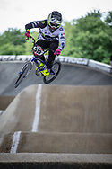 #519 (POINTIN Hugo) FRA at Round 5 of the 2019 UCI BMX Supercross World Cup in Saint-Quentin-En-Yvelines, France