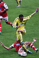 20111103 Braga: SC Braga vs. NK Maribor, UEFA Europa League, Group H, 4th round. In picture: Ewerton and Marcos Tavares. Photo: Pedro Benavente/Cityfiles