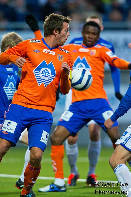 Ålesund 20130309. Bilder fra treningskampen mellom AaFK og Molde på Color Line Stadion i Ålesund. Kampen endte 4-0 til Aalesund etter mål av Fredrik Ulvestad (1-0, 2-0, 3-0) og Leke James (4-0).