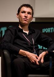 Jani Brajkovic, Slovenian rider  during Sporto  2010 - Sports marketing and sponsorship conference, on November 29, 2010 in Hotel Slovenija, Portoroz/Portorose, Slovenia. (Photo By Vid Ponikvar / Sportida.com)