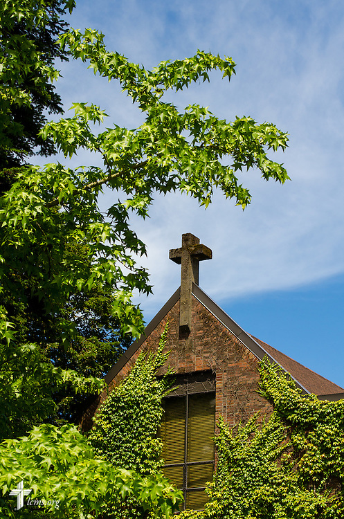 A photograph of the old chapel at Concordia University on Friday, July 11, 2014,  in Portland, Ore. LCMS Communications/Erik M. Lunsford