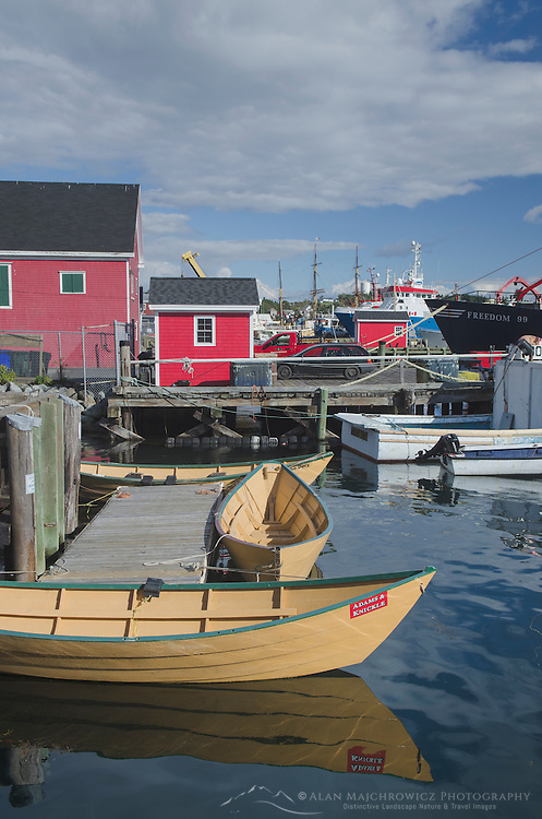 Fishing boats, Lunenburg Nova Scotia