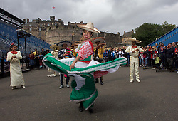 The Banda Monumental de Mexico will bring a carnival atmosphere to the Royal Edinburgh Military Tattoo which launched the 2018 programme today, pic copyright Terry Murden @edinburghelitemedia