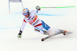 02.02.2014, Corviglia, St. Moritz, SUI, FIS Weltcup Ski Alpin, Riesenslalom, Herren, im Bild Justin Murisier (SUI) // during the Mens Giant Slalom of the St. Moritz FIS Ski Alpine World Cup at the Corviglia course in St. Moritz, Switzerland on 2014/02/02. EXPA Pictures © 2014, PhotoCredit: EXPA/ Freshfocus/ Claude Diderich<br /> <br /> *****ATTENTION - for AUT, SLO, CRO, SRB, BIH, MAZ only*****