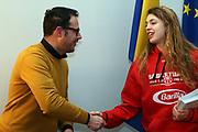 Martina Fassina<br /> Raduno Nazionale Italiana Femminile Senior - Visita al Sindaco di Montegrotto Terme<br /> FIP 2017<br /> Montegrotto Terme, 27/02/2017<br /> Foto Ciamillo - Castoria