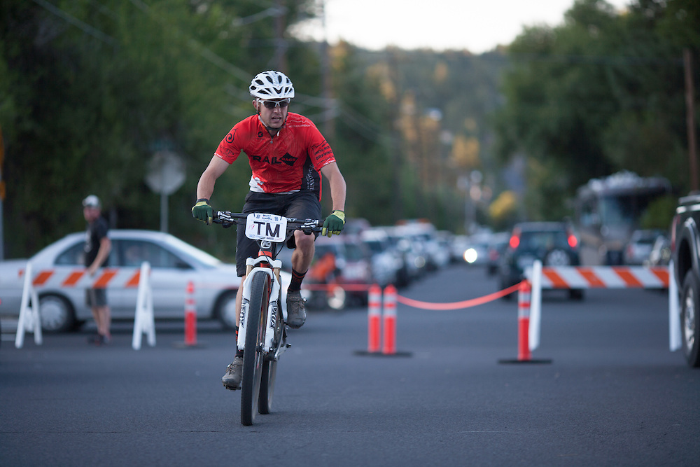 Tyler Miller (TrailRags Cycling Team) rolls in to a top ten finish.  © Brian Nelson