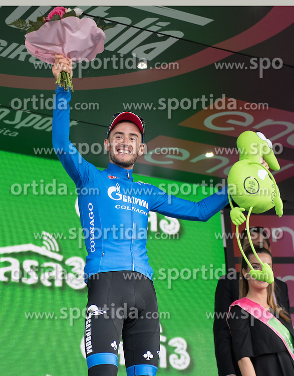 22.05.2016, Kastelruth nach Seiseralm, ITA, Giro d Italia 2016, 15. Etappe, im Bild Alexander Foliforov (RUS, Team Rusvelo) // during 15th Stage, from Castelrotto to Alpe di Siusi of the Giro d Italia at. in Kastelruth nach Seiseralm, Italy on 2016/05/22. EXPA Pictures © 2016, PhotoCredit: EXPA/ Reinhard Eisenbauer