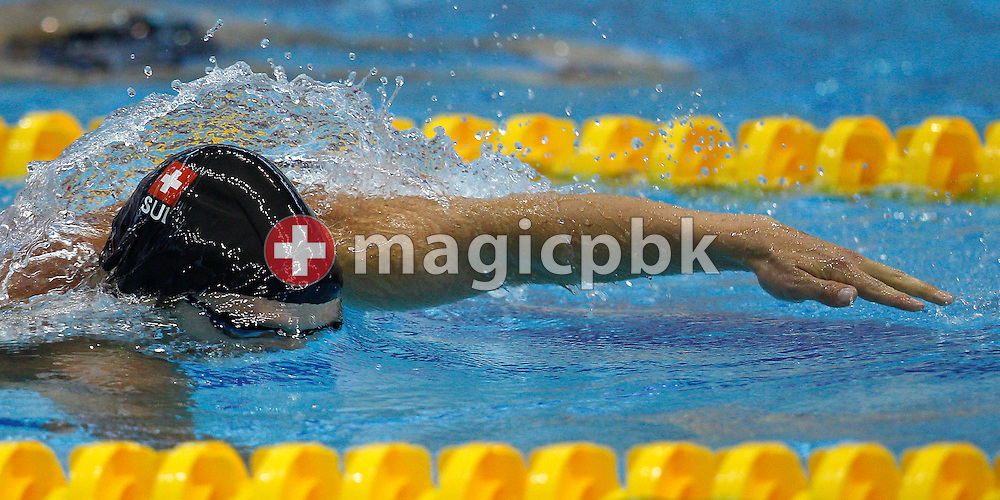 Dominik MEICHTRY of Switzerland competes in the men's 400m Freestyle Heats at the 15th European Short Course Swimming Championships in Szczecin, Poland, Thursday, Dec. 8, 2011. (Photo by Patrick B. Kraemer / MAGICPBK)