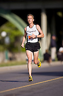 Ottawa, Ontario ---25/05/08--- Brad Poore runs during the ING Ottawa Marathon, May 26, 2008..GEOFF ROBINS /