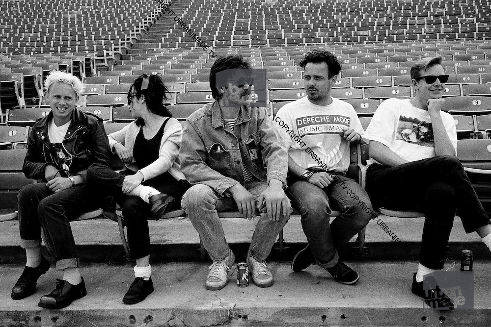 Depeche Mode at the Hollywood Bowl 1988