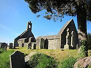 Kilgobbin, Church, Stepaside, co, Dublin, – 1707, garve, yard,