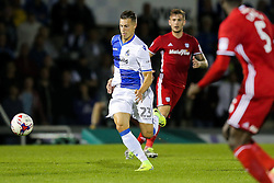 Billy Bodin of Bristol Rovers in action - Rogan Thomson/JMP - 11/08/2017 - FOOTBALL - Memorial Stadium - Bristol, England - Bristol Rovers v Cardiff City - EFL Cup First Round.
