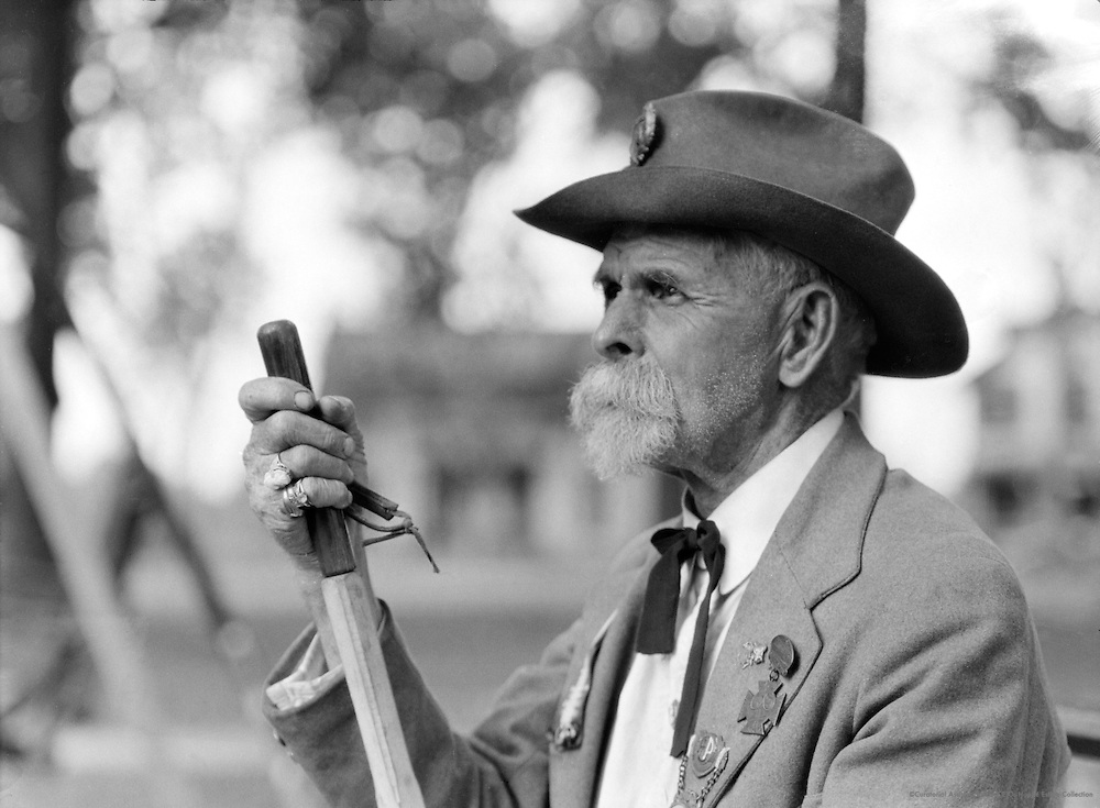 War veteran, Texas, 1926