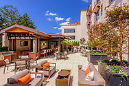 Grand Courtyard, Villa BXV, Bronxville, New York