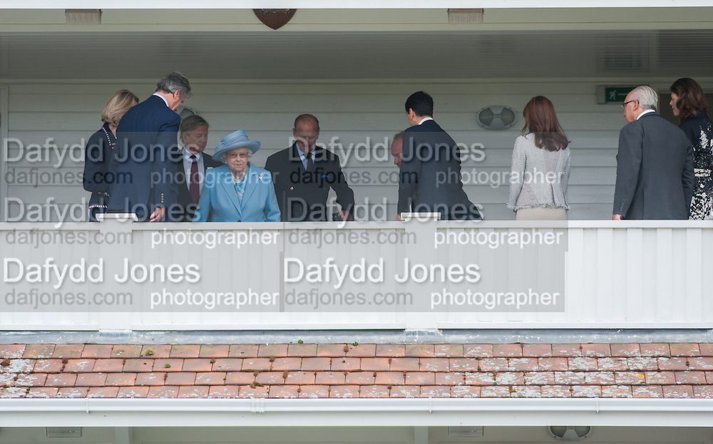 THE QUEEN; DUKE OF EDINBURGH, Cartier Queen's Cup. Guards Polo Club, Windsor Great Park. 17 June 2012