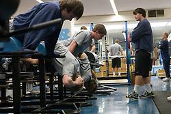 03 April 2008: North Carolina Tar Heels men's lacrosse midfielder Joe Howard (30) during a practice day in Chapel Hill, NC.