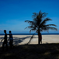 A scenic beach in Kuala Terengganu, Terengganu state.
