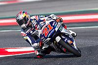 Fabio Di Giannantonio of Italy and Del Conca Gresini Moto3 Team  rides during free practice for the Moto3 of Catalunya at Circuit de Catalunya on June 10, 2017 in Montmelo, Spain.(ALTERPHOTOS/Rodrigo Jimenez)