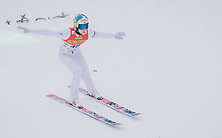 16.02.2020, Kulm, Bad Mitterndorf, AUT, FIS Ski Flug Weltcup, Kulm, Herren, im Bild Antti Aalto (FIN) // Antti Aalto of Finland during his Jump for the men's FIS Ski Flying World Cup at the Kulm in Bad Mitterndorf, Austria on 2020/02/16. EXPA Pictures © 2020, PhotoCredit: EXPA/ Dominik Angerer