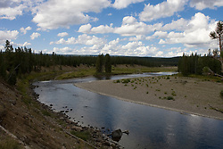The Snake River at the South Entrance to Yellowstone National Park