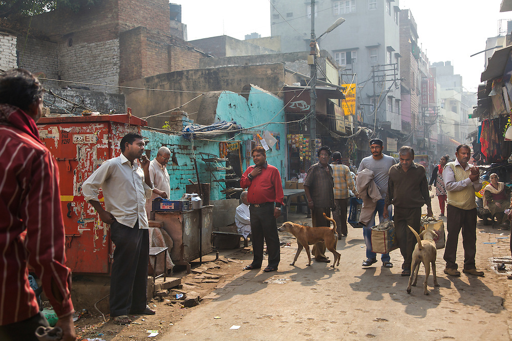 Streets around the Love Commandos' shelter. For hundreds of years, the Indian society has been stratified mainly on the basis of caste. The lower castes are not only socially deprived but also economically discriminated. Efforts by various social reformers and organizations to free India from the clutches of the caste system, untouchability and racial discrimination have had limited impact. When we discuss Indian marriages with a shade of inter-caste union, it sounds like a taboo to the majority even to this days.