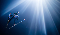 06.01.2015, Paul Ausserleitner Schanze, Bischofshofen, AUT, FIS Ski Sprung Weltcup, 63. Vierschanzentournee, Finale, im Bild Clemens Aigner (AUT) // Clemens Aigner of Austria during Final Jump of 63rd Four Hills <br /> Tournament of FIS Ski Jumping World Cup at the Paul Ausserleitner Schanze, Bischofshofen, Austria on 2015/01/06. EXPA Pictures &copy; 2015, PhotoCredit: EXPA/ JFK