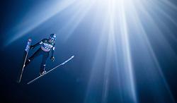 06.01.2015, Paul Ausserleitner Schanze, Bischofshofen, AUT, FIS Ski Sprung Weltcup, 63. Vierschanzentournee, Finale, im Bild Clemens Aigner (AUT) // Clemens Aigner of Austria during Final Jump of 63rd Four Hills <br /> Tournament of FIS Ski Jumping World Cup at the Paul Ausserleitner Schanze, Bischofshofen, Austria on 2015/01/06. EXPA Pictures © 2015, PhotoCredit: EXPA/ JFK