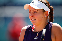 May 9, 2019 - Madrid, MADRID, SPAIN - Jelena Ostapenko (LAT) during the Mutua Madrid Open 2019 (ATP Masters 1000 and WTA Premier) tenis tournament at Caja Magica in Madrid, Spain, on May 09, 2019. (Credit Image: © AFP7 via ZUMA Wire)
