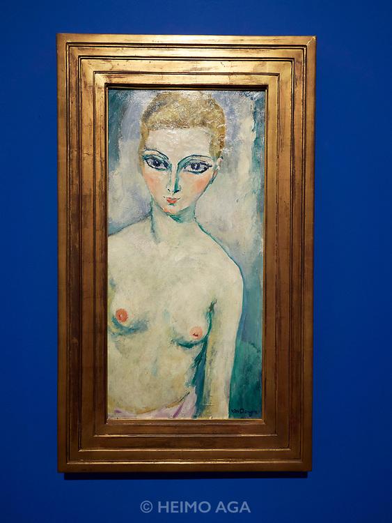 """V-A-C Foundation, The Explorers, Part One. Kees van Dongen, """"Nude Hélène de Morangys, ca. 1925"""