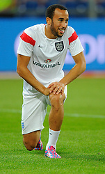 England's Andros Townsend (Tottenham Hotspur) - Photo mandatory by-line: Joe Meredith/JMP - Mobile: 07966 386802 - 08/09/14 - SPORT - FOOTBALL - Switzerland - Basel - St Jacob Park - Switzerland v England - Uefa Euro 2016 Group E Qualifier