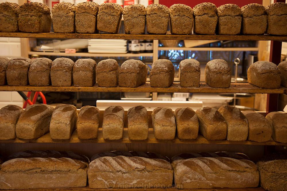 Bakery bread in Bergen, Norway.