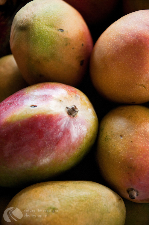 Mango, Hilo Hawaii farmers market