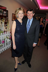Lawyer FIONA SHACKLETON and her husband IAN SHACKLETON at the annual Sotheby's Summer Party held at their auction rooms 34-35 New Bond Street, London W1 on 19th June 2008.<br /><br />NON EXCLUSIVE - WORLD RIGHTS