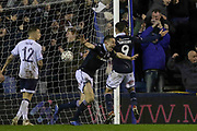GOAL - Millwall defender Murray Wallace (25)  celebrates 3-2 during the The FA Cup fourth round match between Millwall and Everton at The Den, London, England on 26 January 2019.